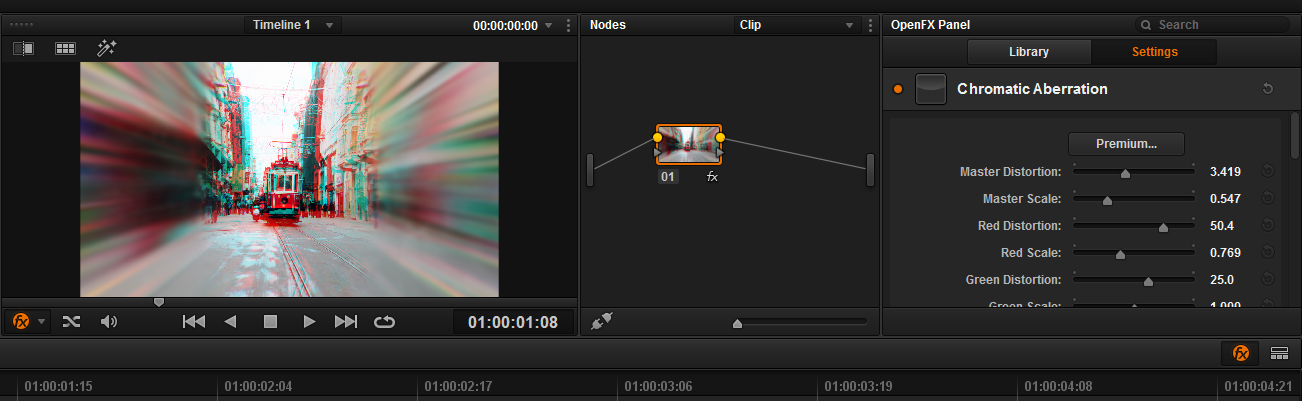 how to open davinci resolve projects