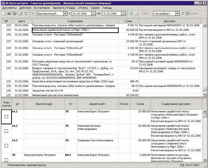 Программы бухгалтерского учета для ип