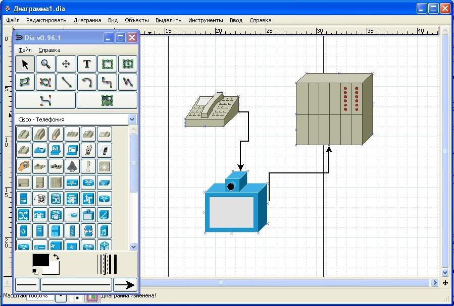 Программа для создания блок схем на mac