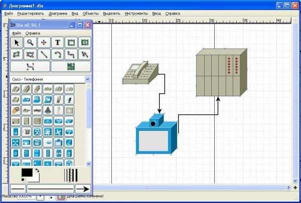 Программы для создания схем и диаграмм